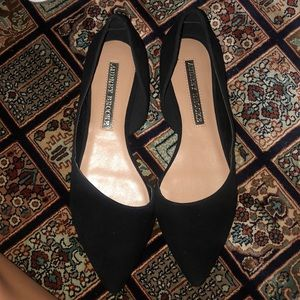 Audrey Brooke suede flats BRAND NEW